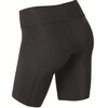 2XU W's Mid-Rise Compression Short Black/Dotted Reflective logo